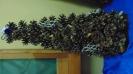 Galeria ozdób świątęcznych wystawionych na kiermasz