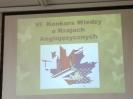 VI Międzyszkolny Konkurs Wiedzy o Krajach Anglojęzycznych